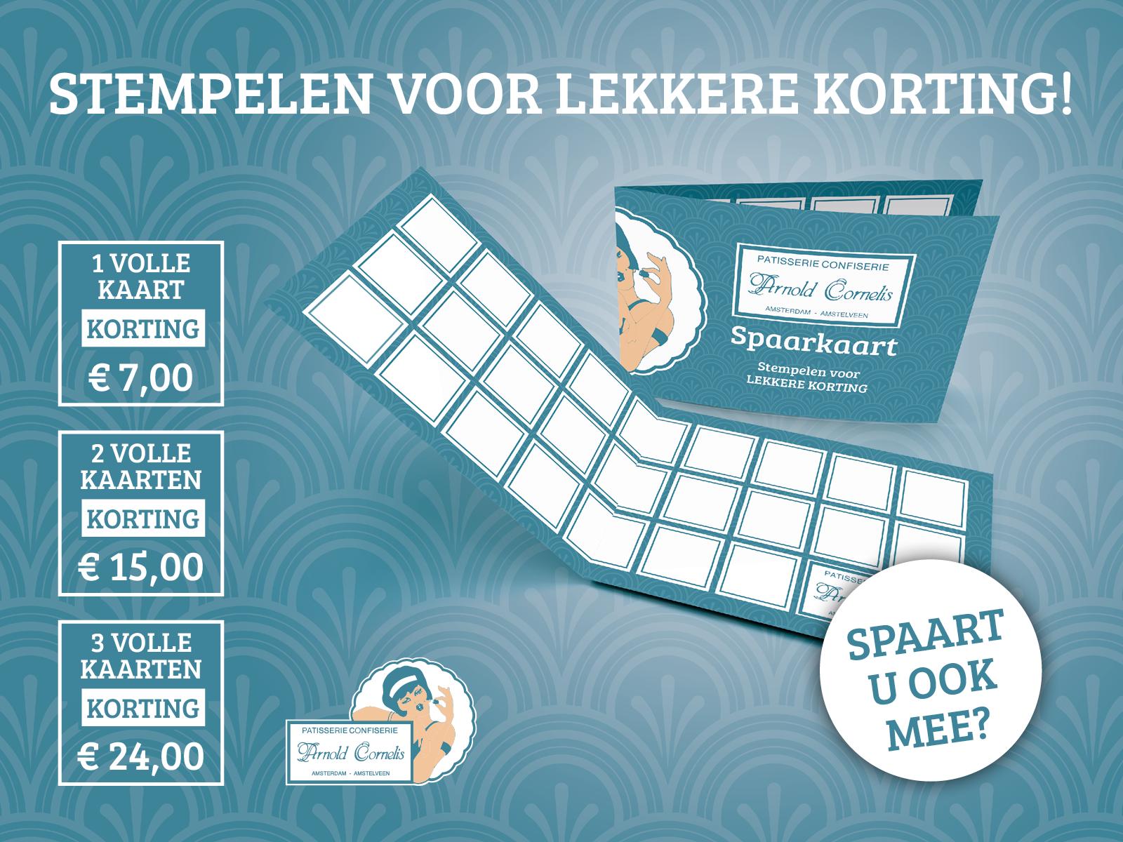 spaarkaart-banketbakkerij-arnold-cornelis-amstelveen-amsterdam