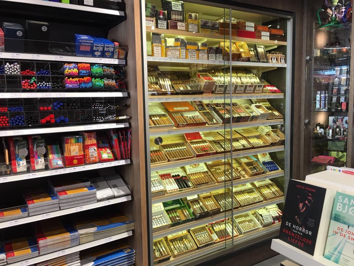 Cigo-Posthoorn-Kansspelclub-kantoorartikelen-sigaren-humidor-boeken-vapes-esigaretten-Amstelveen